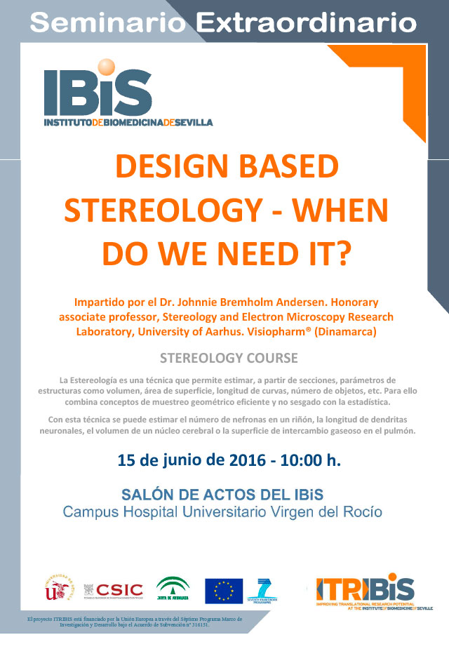Special seminar: DESIGN BASED STEREOLOGY – WHEN DO WE NEED IT?