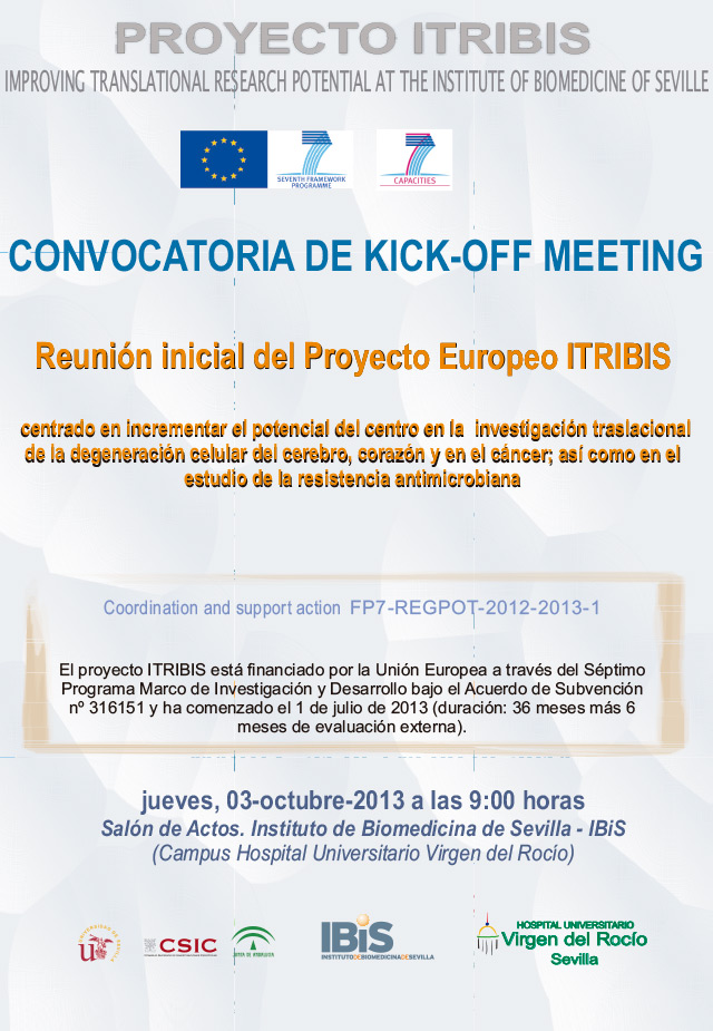 ITRIBIS Project Kick-off meeting