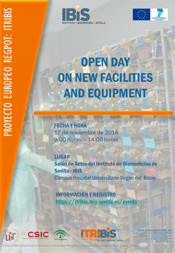 Open Day on new facilities and equipment November 17