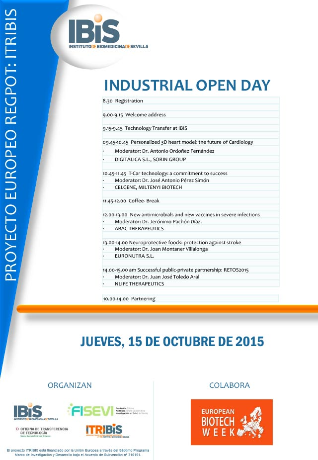 ITRIBiS Industrial Open Day